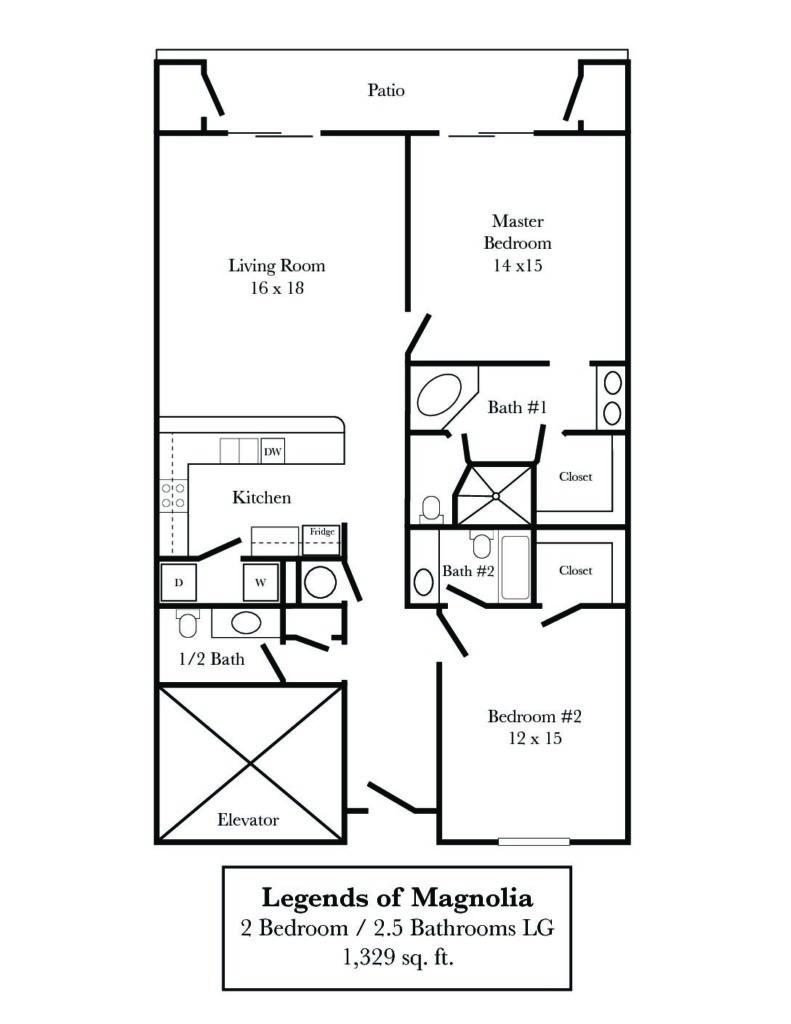 Legends of Magnolia 2/2.5 #309