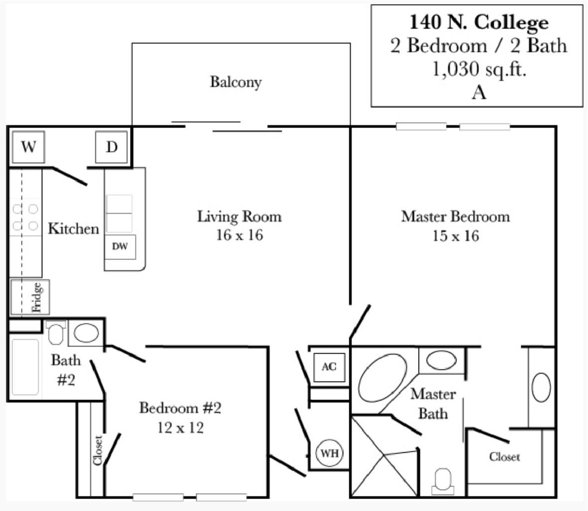 140 N. College - Plan A