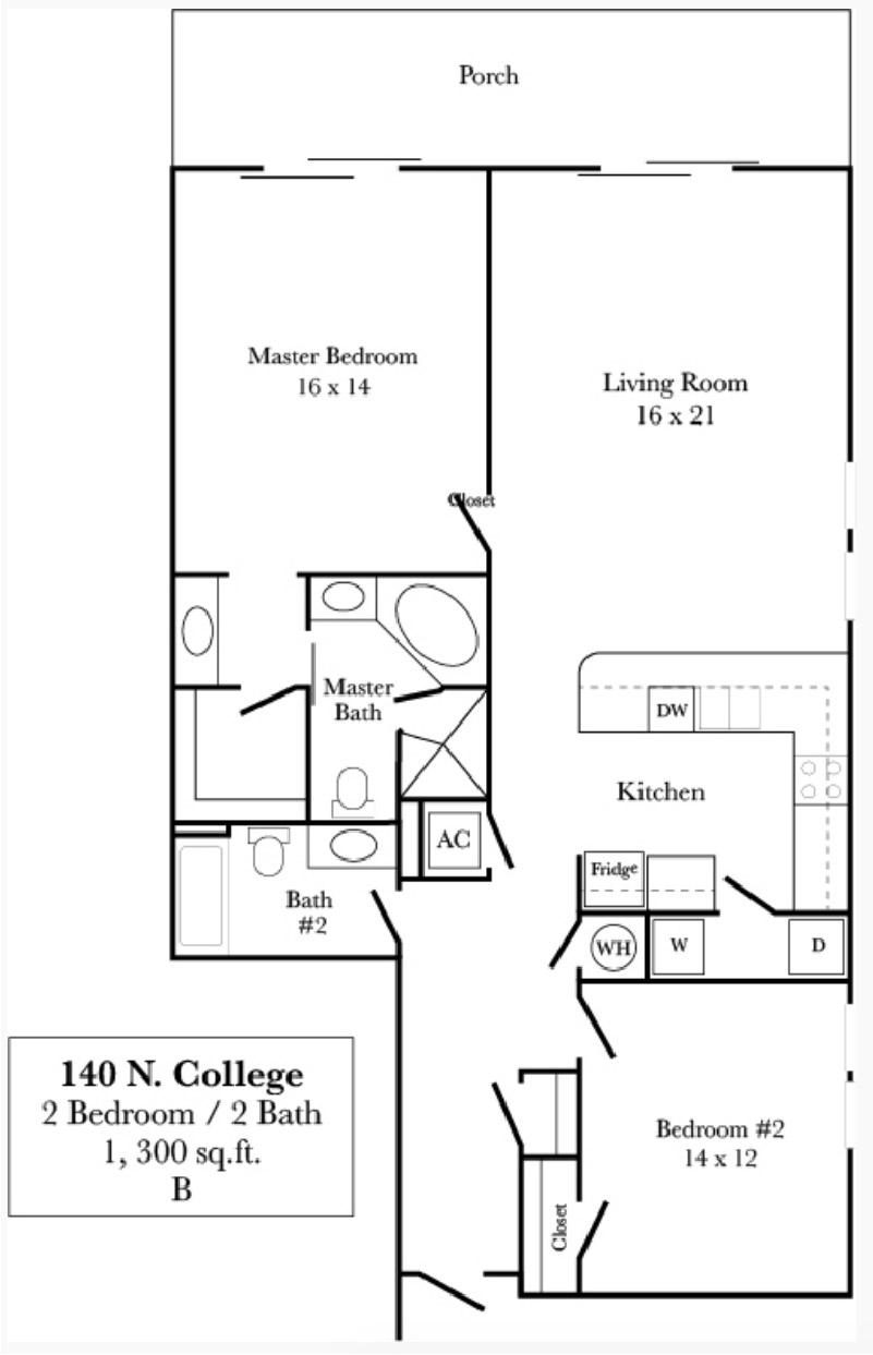 140 N. College - Plan B