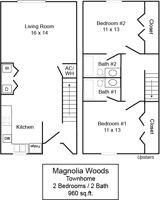 Magnolia Woods 2/2 TH