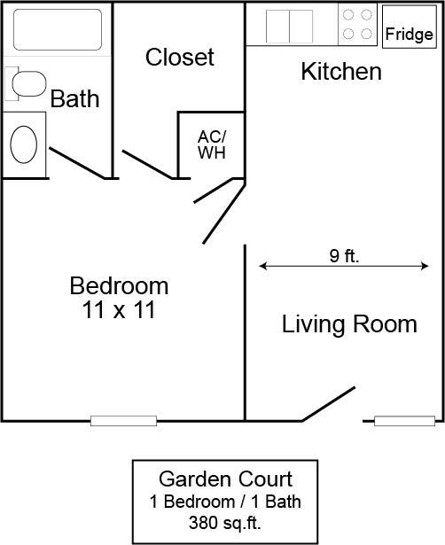 Garden Court 1/1