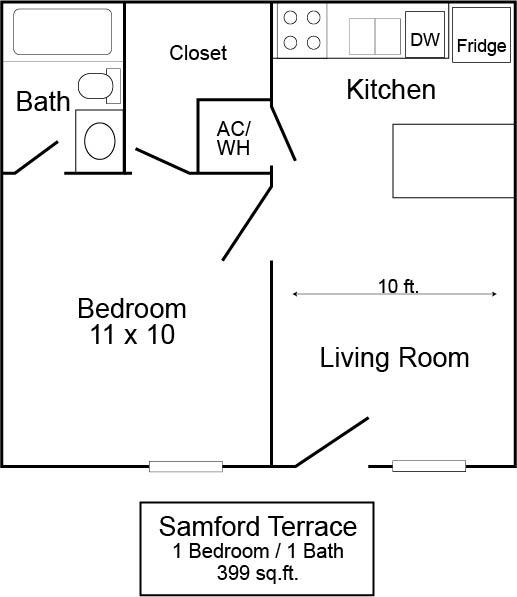 Samford Terrace 1/1