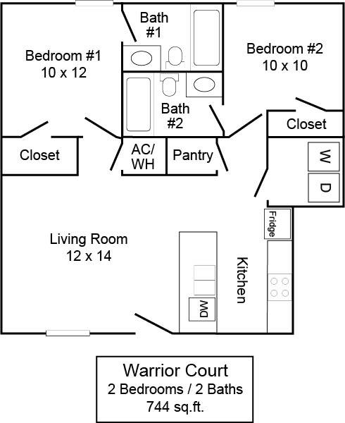 Warrior Court 2/2