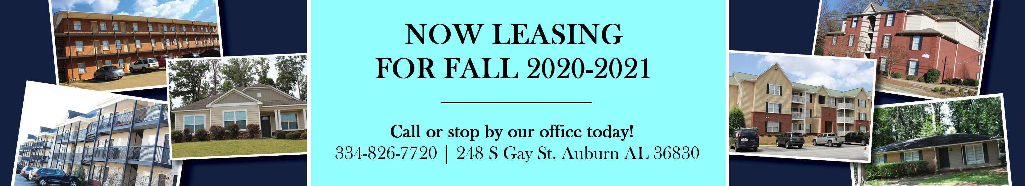 2020 Now Leasing Banner